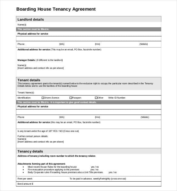 12751650 tenant agreement form free doc581747 free tenant agreement tenancy agreement templates