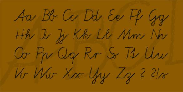 tafelschrift chalkboard font template download