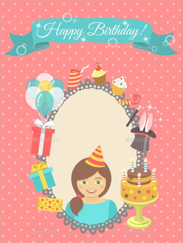 Blank Birthday Templates 20 Free Psd Epsin Design Format