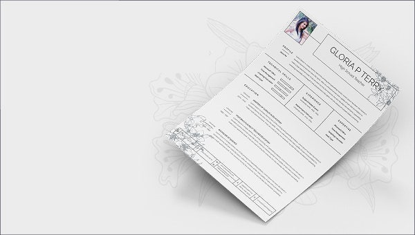 highschoolresume_mockup template