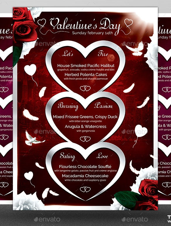 41+ valentines menu templates – free psd, eps format download, Ideas