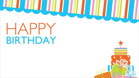 free birthday poster template