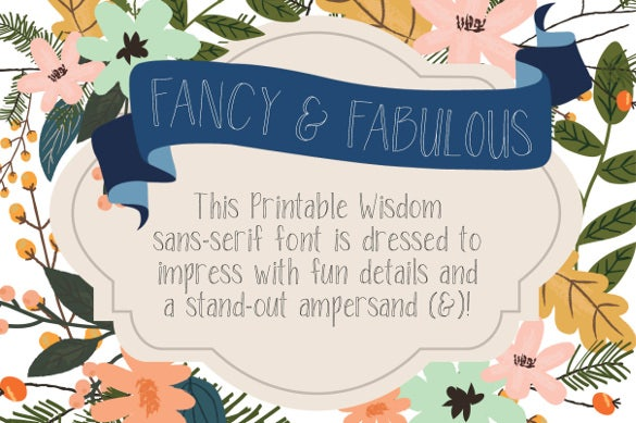 fabulovely a fancy sans serif font download