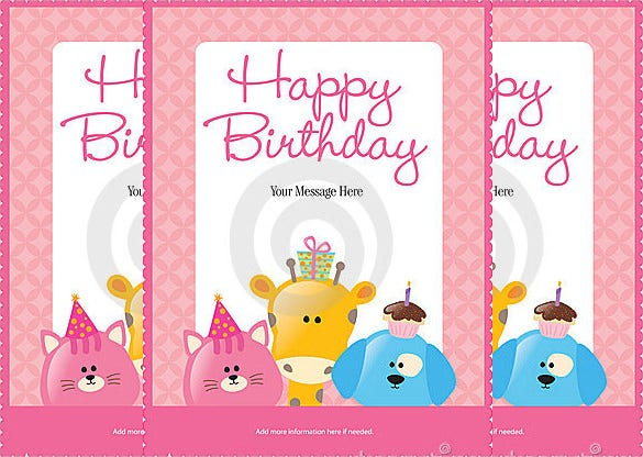 creative happy birthday poster template1