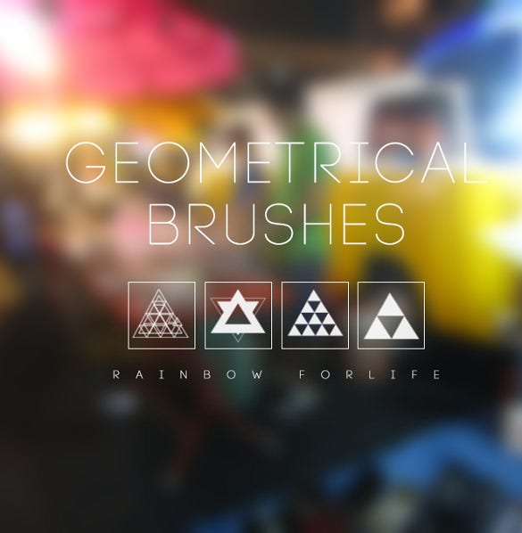 geometric brushes for good result