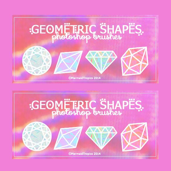 multiple shapes geometric brushes