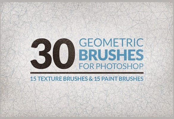 30 geometric brushes for best shapes