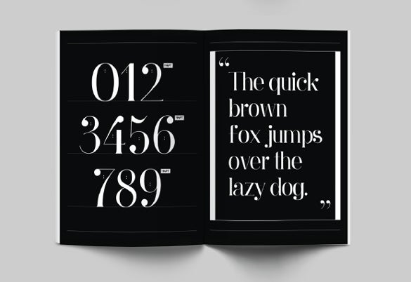 ginebra cute font template download