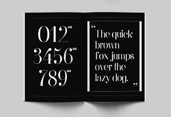 ginebra cute font template download