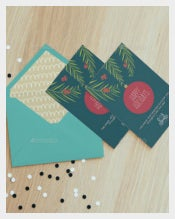 Happy Holiday Invitation Cards For Business
