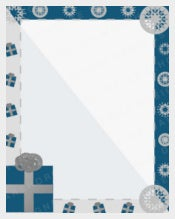 Winter Stationery Holiday Template