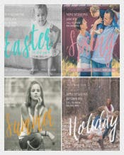 Mini Session Photography Flyer Template