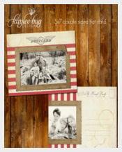 Holiday Postcard Beautiful Template