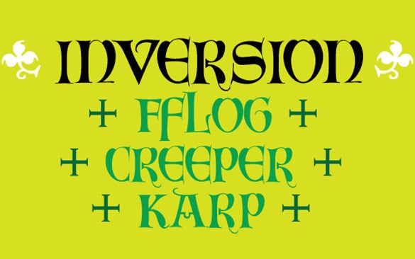 inversion harry potter font template download