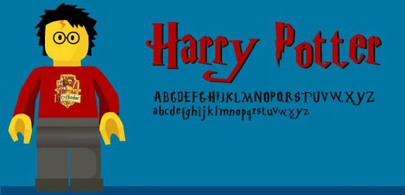 font of harry potter templates download