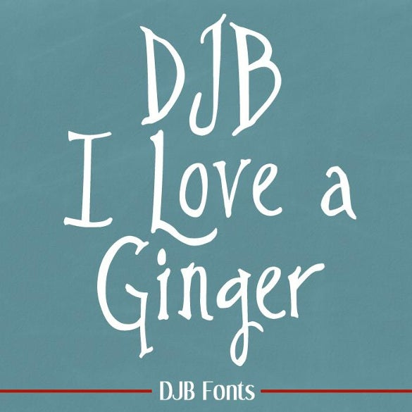 djb i love a harry potter ginger font template download