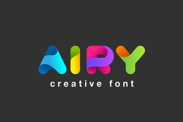 funny airy font template download