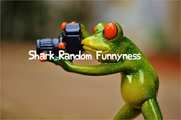 shark random funnyness font template