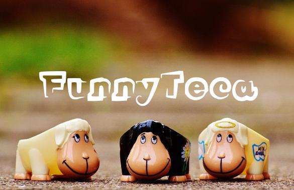 funny teca font tempate download