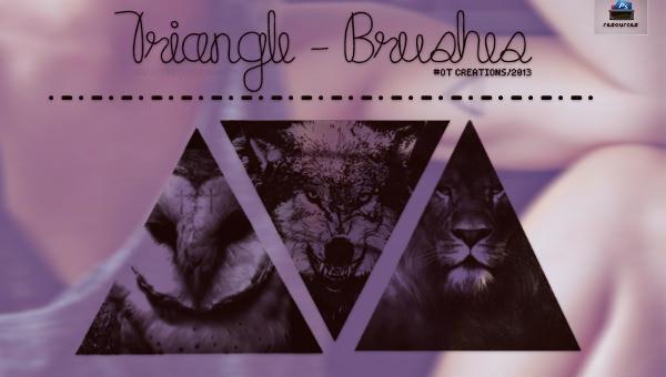 trianglebrushes