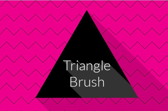 triangle brush for instant download