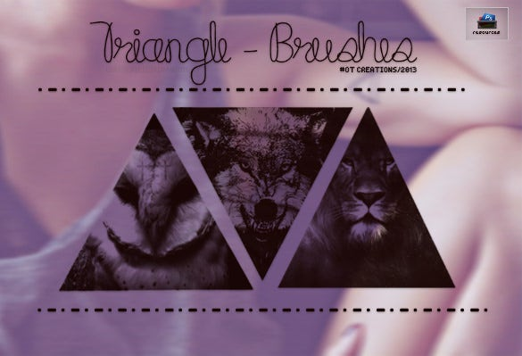 Triangle Brushes – 201+ Free PSD, ABR Format Download | Free ...