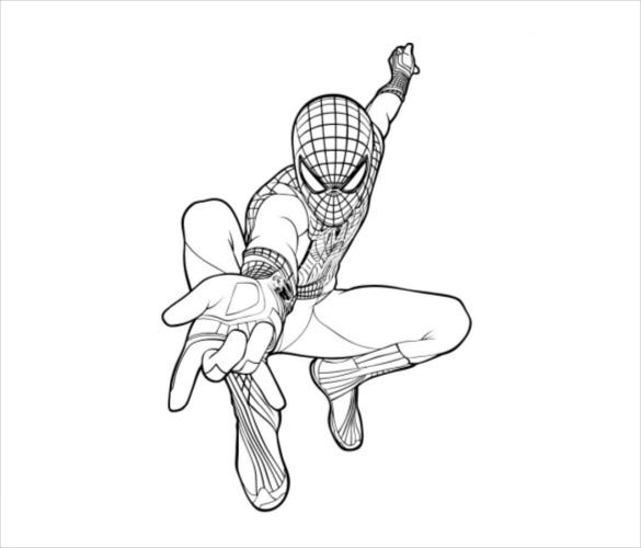 Spider man coloring pages 21 free psd ai vector eps format amazing spider man coloring pages pdf free download stopboris Gallery