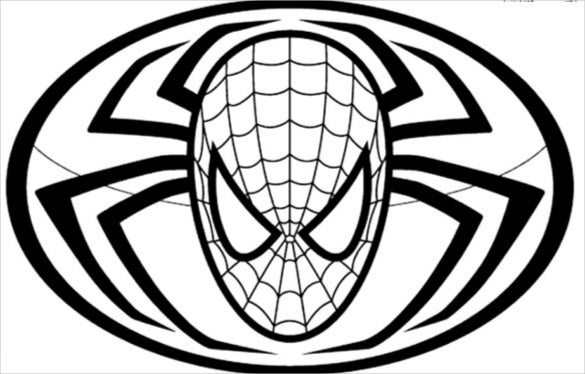 spider man with insect coloring page pdf free download - Spiderman Coloring Page