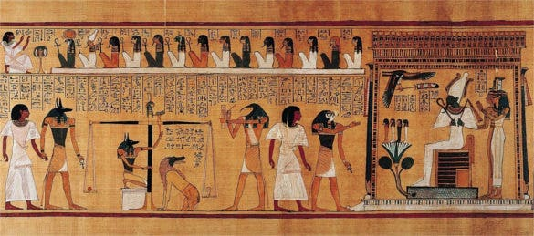 egyptian tomb paintings women art