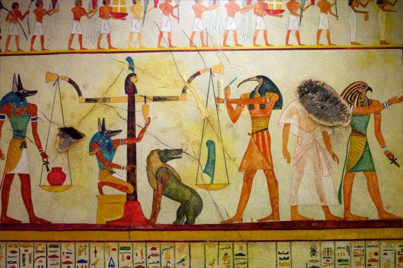 egyptian tomb paintings ancient art