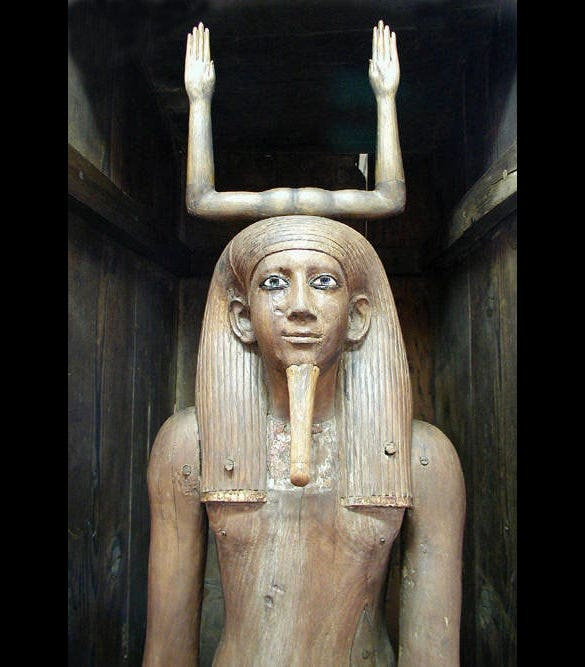 ka statue of horawibra egypt art