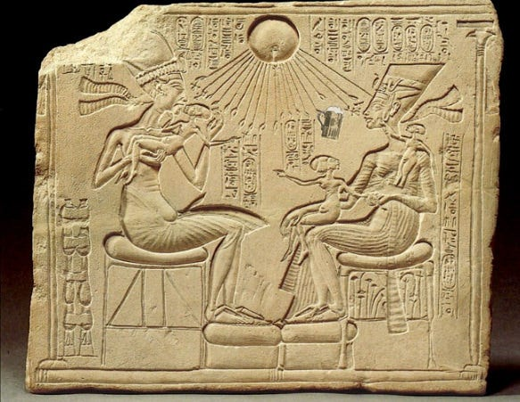 the royal family of akhenaten berlin 14145