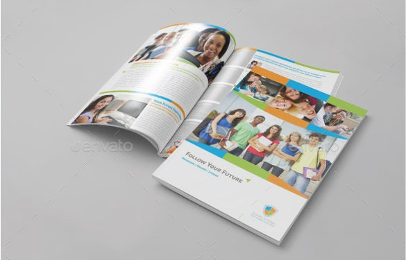 school educational brochure template