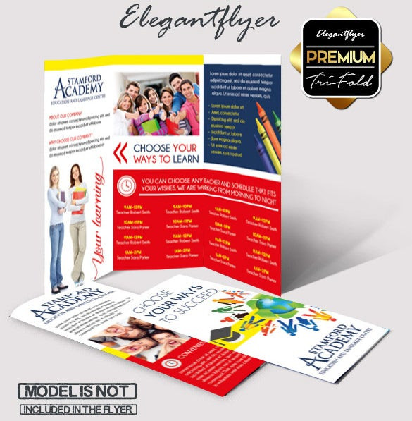 Tri Fold Brochure Template 45 Free Word PDF PSD EPS – Advertising Brochure Template