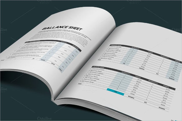annual report template 40 free word pdf documents download