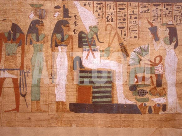 ancient papyrus cairo museum of egyptian antiquities