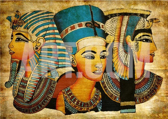 artwork of ancient egyptian parchment download