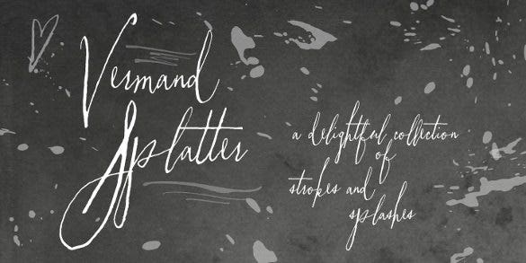 vermandois modern font template download