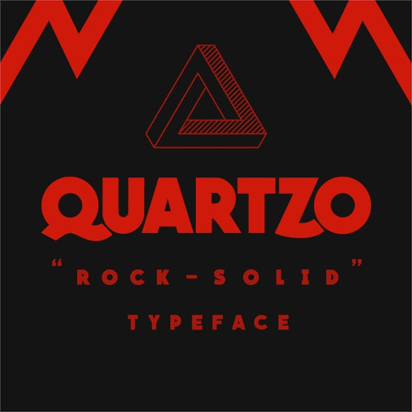quartzo demo modern font template