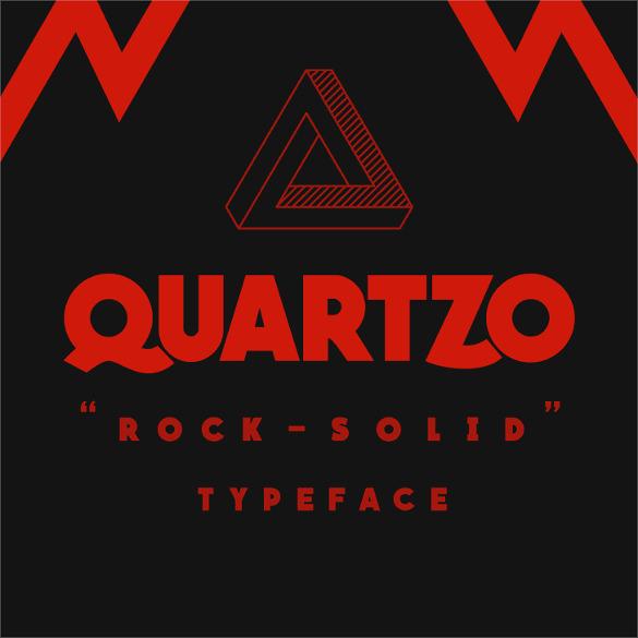quartzo demo modern font template