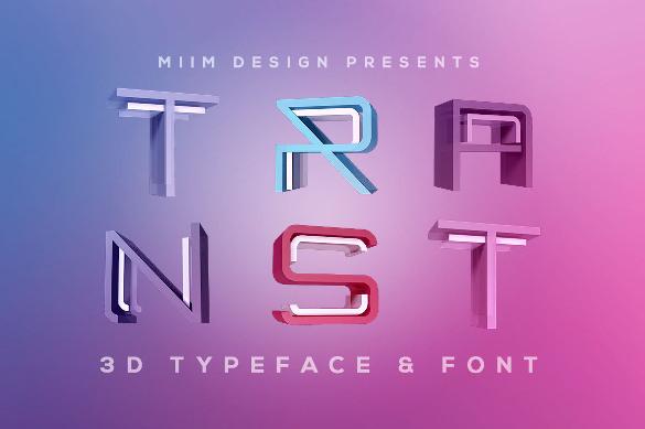 trnst cool lettering font download