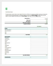 Personal Budget Spreadsheet Free Excel Template