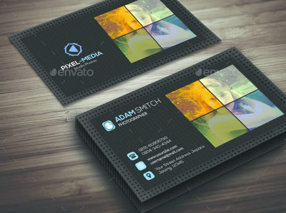 style photography business card