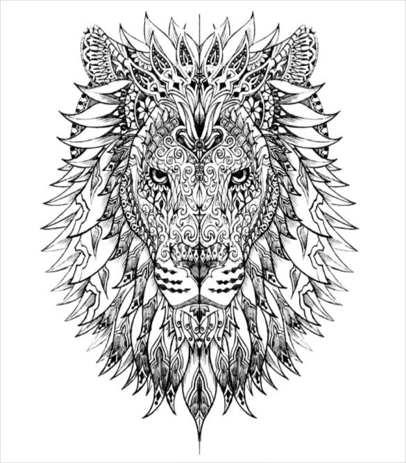 23 Animal Coloring Pages PSD AI Vector EPS Free