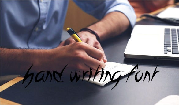 hand writing font download