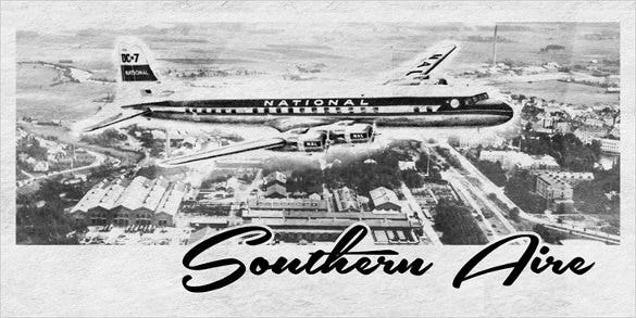 southern aire personal use only writing font download