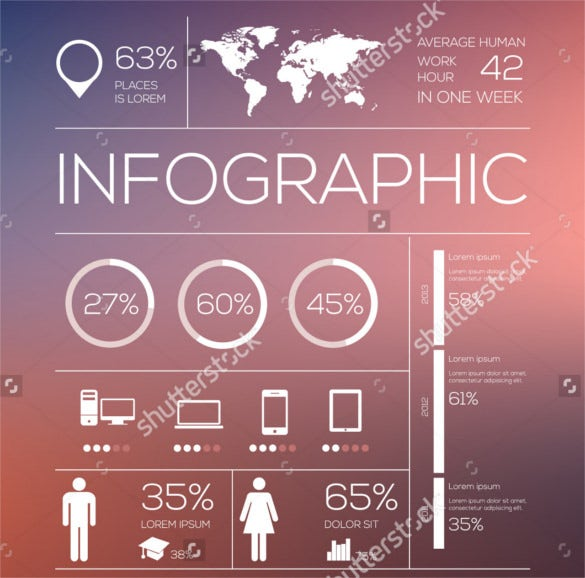 download set elements of infographics vector illustration