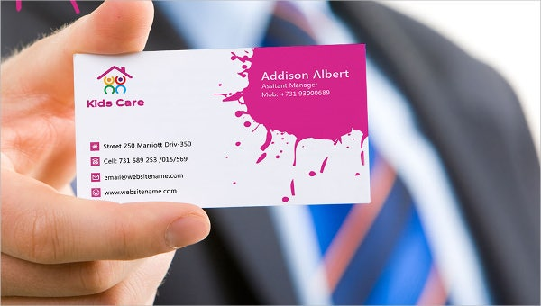 daycare_business card template
