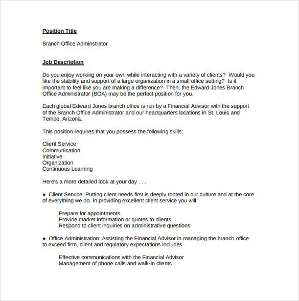 Church business administrator resume
