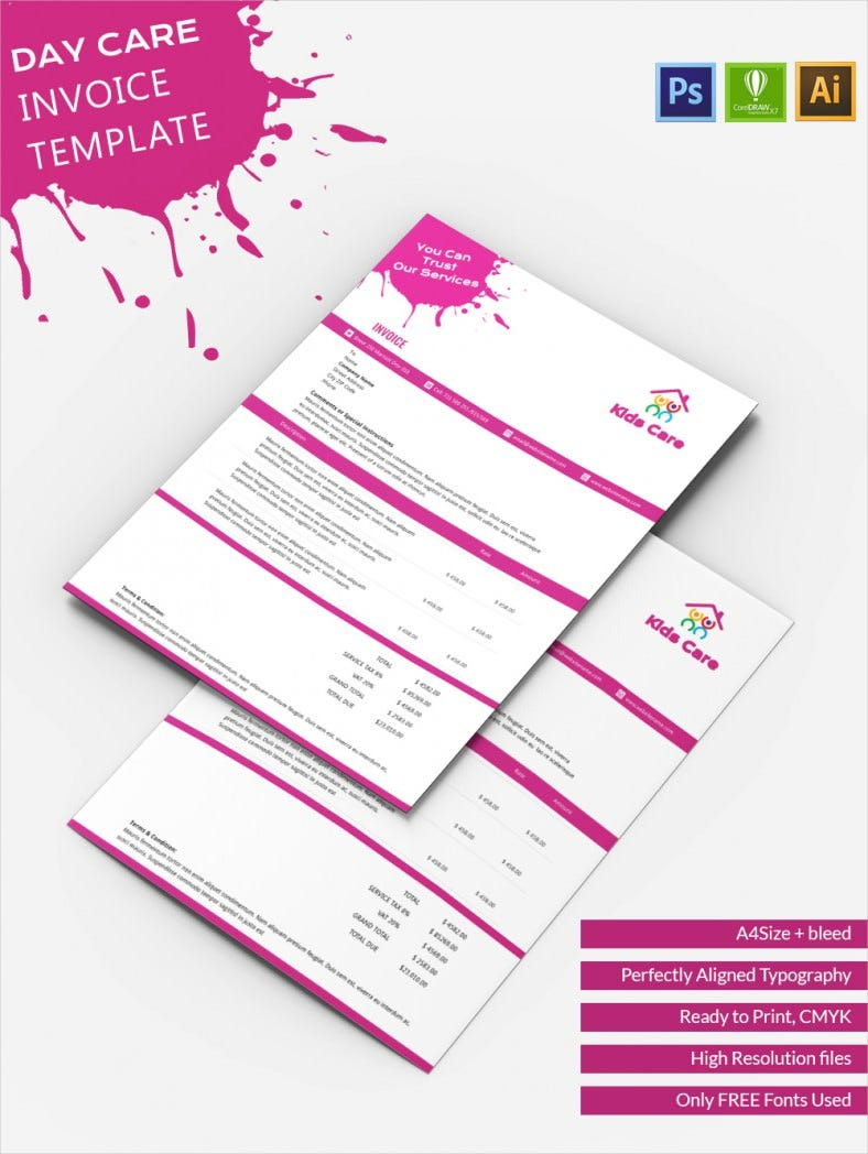 DayCare_Invoice Template